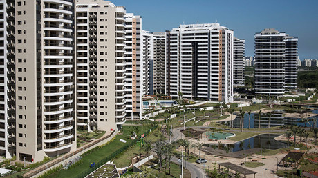 A general view of the Olympic Village in Rio de Janeiro, Brazil, June 15, 2016. ©Felipe Dana