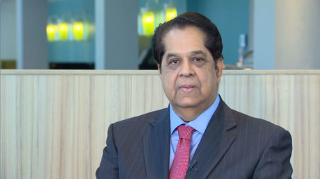 K. V. Kamath - president of the New Development Bank