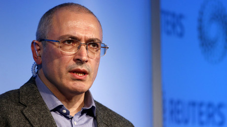 Mikhail Khodorkovsky © Peter Nicholls