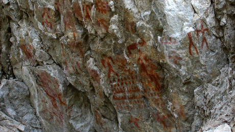 Archaeologists draw on urban legend to find ancient Bronze Age wall paintings (PHOTOS)