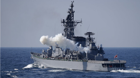 Japan Maritime Self-Defense Force (JMSDF) destroyer Shimakaze © Toru Hanai