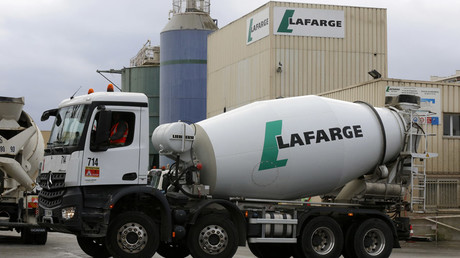 Top officials from French-Swiss cement giant Lafarge suspected of financing terrorism