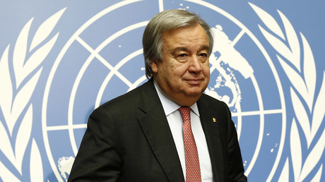 Antonio Guterres, United Nations High Commissioner for Refugees (UNHCR) © Denis Balibouse
