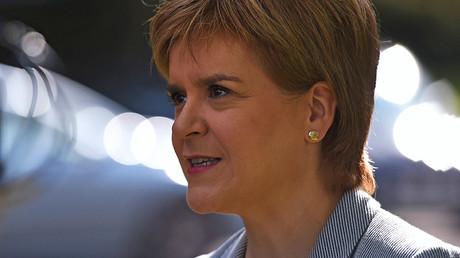 Scotland's First Minister Nicola Sturgeon © Clodagh Kilcoyne