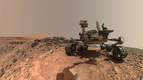 NASA's Curiosity Mars rover © NASA