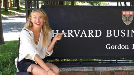 Maria Sharapova enrolls at Harvard