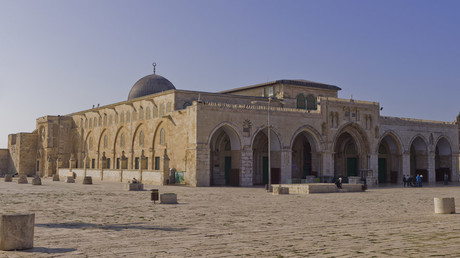 Northeast exposure of Al-Aqsa Mosque on the Temple Mount, in the Old City of Jerusalem. © Wikipedia