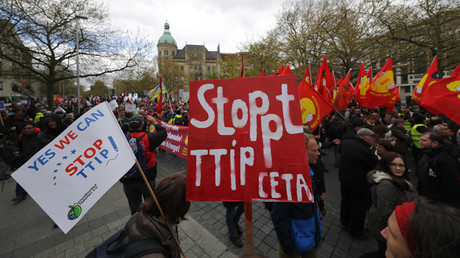 TTIP 'doesn't respect EU interests': French PM Valls says 'non' to transatlantic treaty