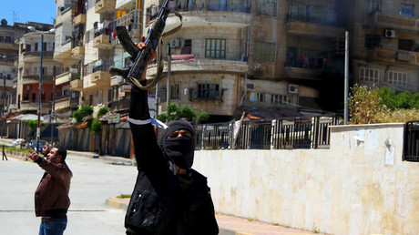 A Nusra Front fighter © Ammar Abdullah