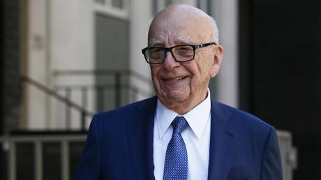Media mogul Rupert Murdoch © Stefan Wermuth