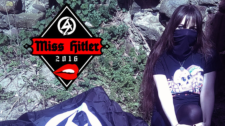 Neo-Nazi group crowns Scottish woman 'Miss Hitler 2016'