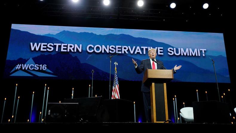 Trump protests turn violent in Denver, 3 arrested