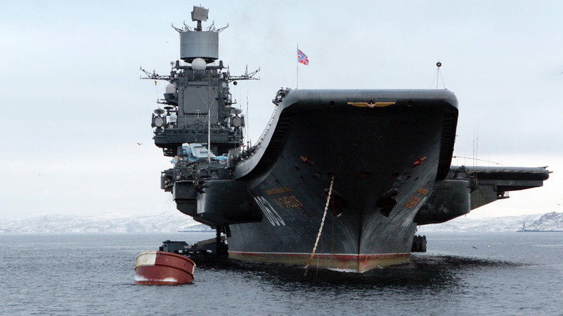 Russian aircraft carrier to take part in Syria operation by October – source