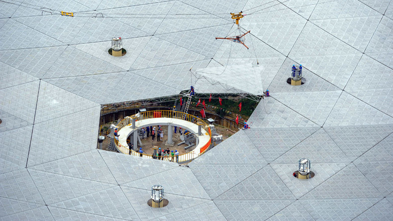 China to 'eavesdrop' on alien life with giant, multimillion dollar radio telescope (VIDEO)