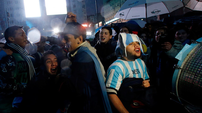 'Do not go, Lio': Hundreds of football fans rally to plea for Argentina star Messi's return