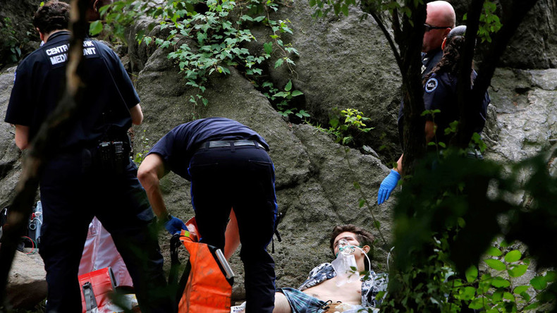Young man severely injured in Central Park explosion in NYC
