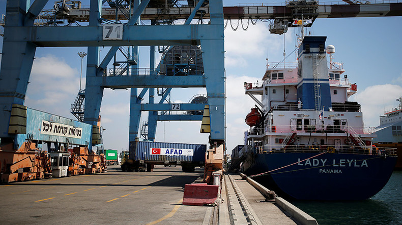 Turkish aid ship reaches Gaza following reconciliation deal with Israel