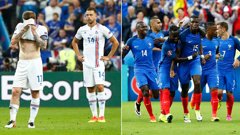 Iceland hearts broken as France wins 5-2 to reach Euro 2016 semi-final