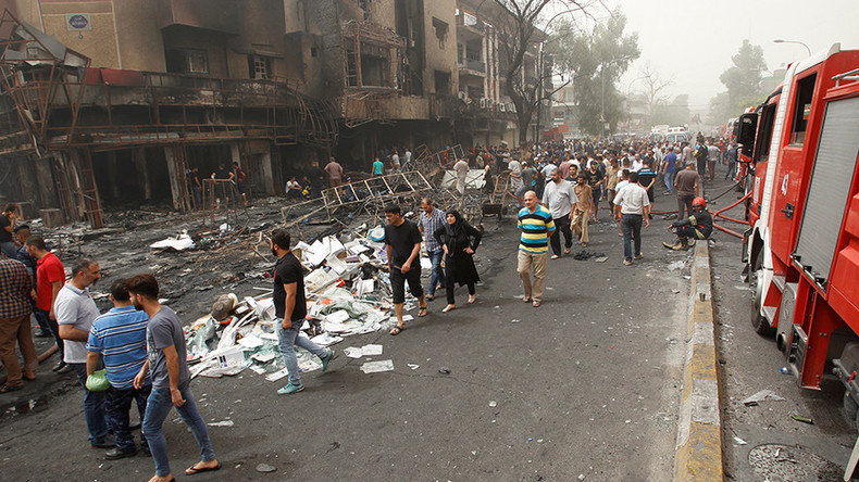 Death toll in Baghdad ISIS bombings surpasses 200 (VIDEO)