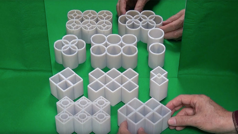 Shape-shifting cylinders: Epic optical illusion mystifies the internet (VIDEO)