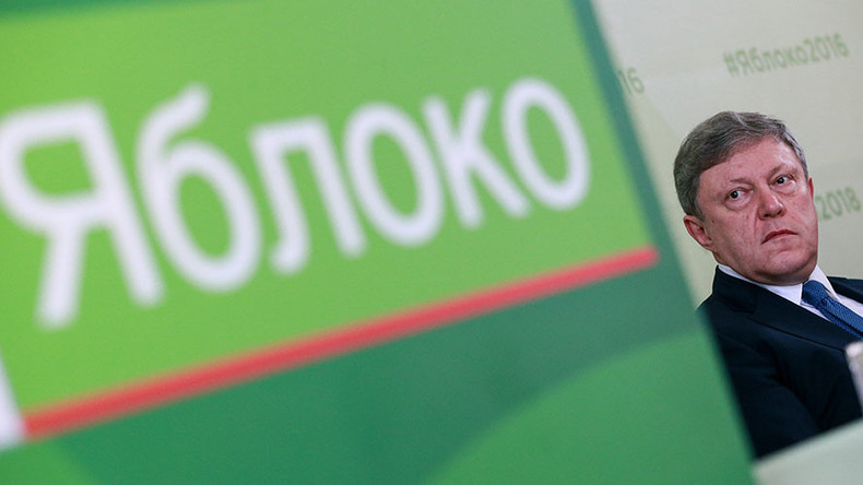 Liberals Yabloko announce 'alternative patriotism' program for State Duma polls