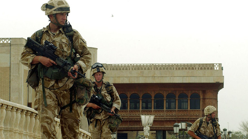 Enraged UK veterans blast 'war of aggression' ahead of Chilcot's Iraq war report (RT EXCLUSIVE)