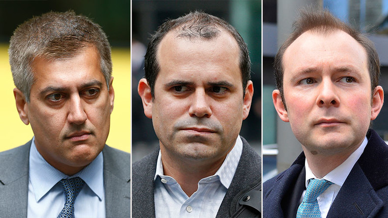 Three former Barclays' traders convicted in Libor case