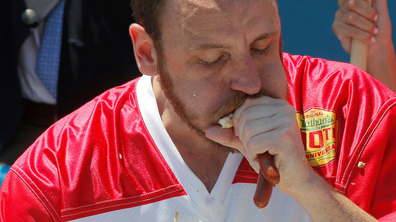 70 hot dogs, 10 minutes: 'Joey Chestnut is America'