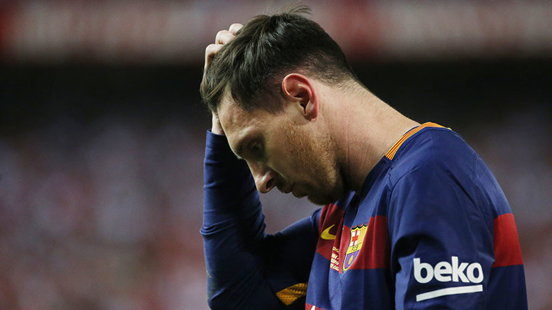 Barcelona football star Messi & father get 21-month sentences on tax charges