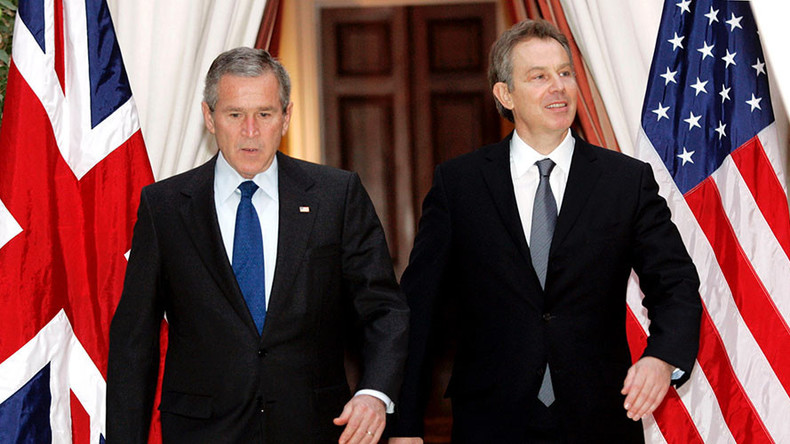 Blair pledges 'no excuses' for Iraq, then spends 2hrs making excuses