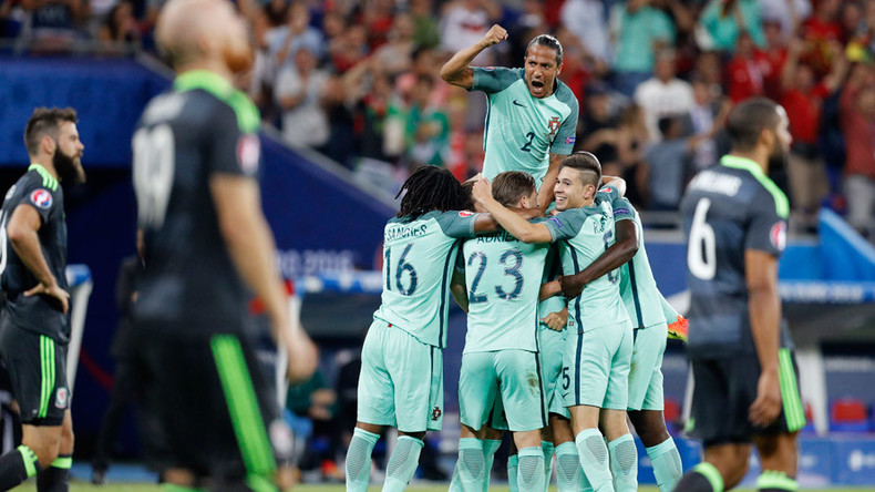 Euro 2016 semi-final: Portugal 2-0 Wales