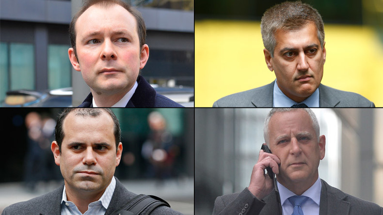 Ex-Barclays traders jailed over Libor rigging