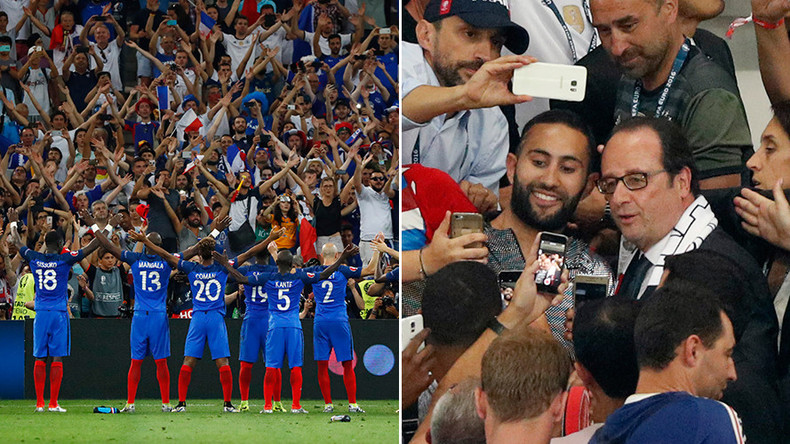 Viking claps & happy Hollande: Internet reacts to France's Euro 2016 semi-final victory