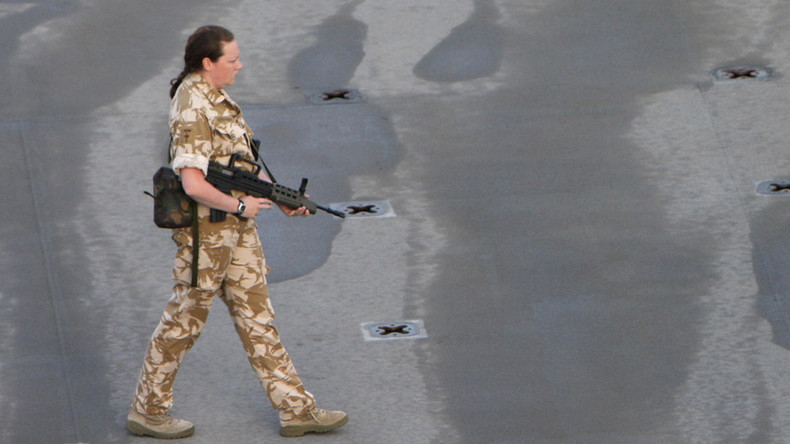 Level battlefield: British military to allow women soldiers to serve in combat