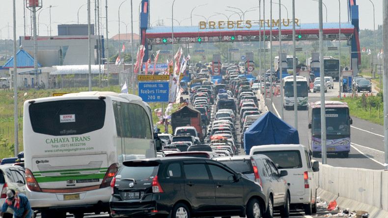 12 die in 3-day traffic jam at Indonesian junction called 'Brexit'
