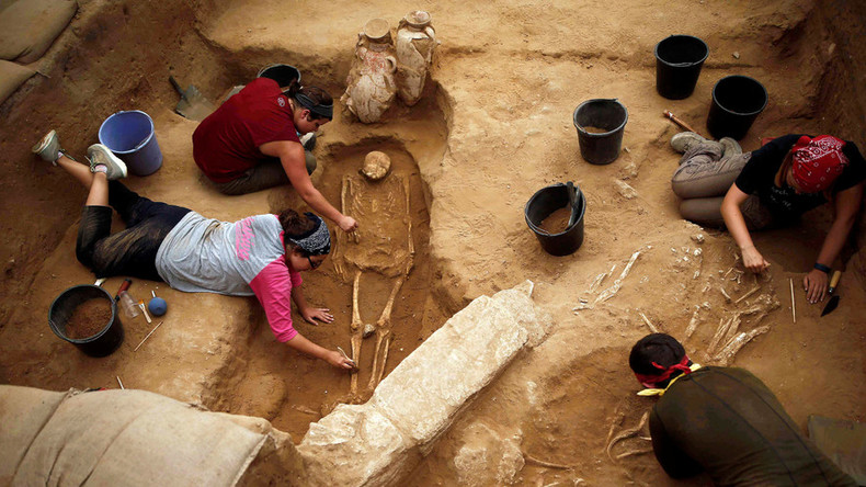 'First Philistine cemetery' may upend knowledge of ancient people after 30 years' dig
