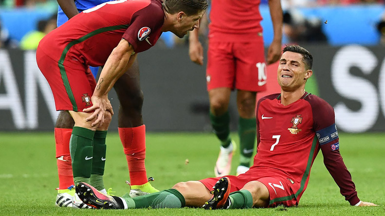 The Butterfly effect: Moth flies onto crying Ronaldo, internet goes into meltdown