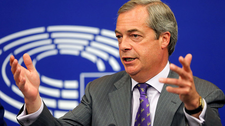 Assassination threats forced UKIP boss Nigel Farage to resign - reports