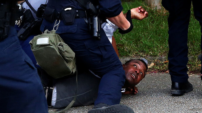 'Barack Obama sitting on the fence between racists and victims of police abuse'