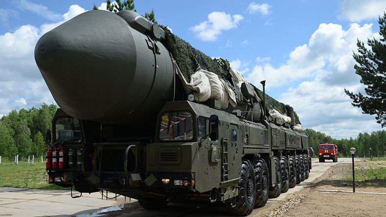 Yars & Topol-M intercontinental ballistic missiles rumble in massive Russian drill