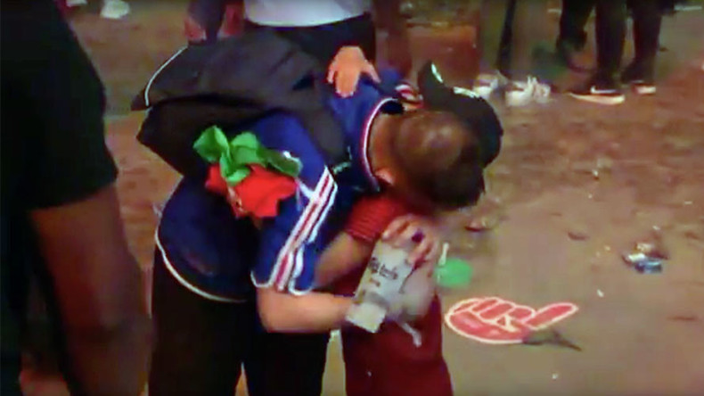 This video will move you to tears: Portuguese boy consoles heartbroken French fan