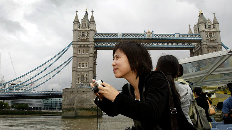UK becomes sterling travel destination as pound plummets