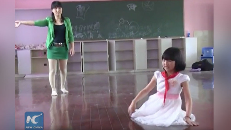 Chinese girl who learned to dance with no legs becomes national inspiration (VIDEO)