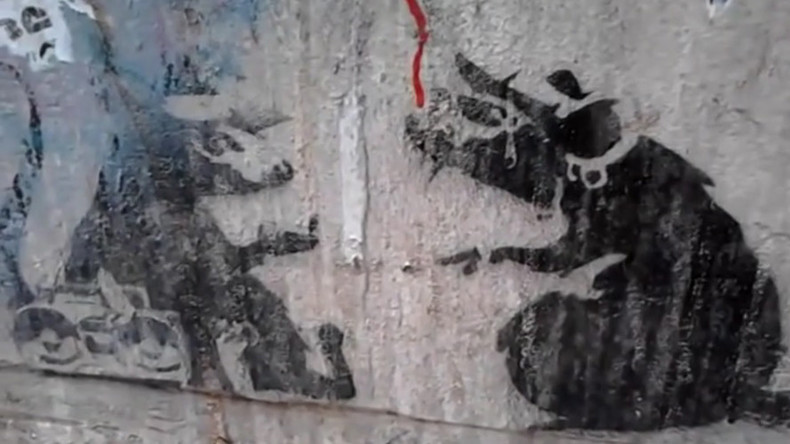 Banksy street art destroyed in Melbourne, replaced with plain doorway (VIDEO)