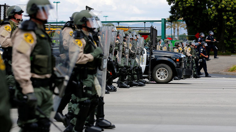Who will protect Main Street, USA from militarized police forces?