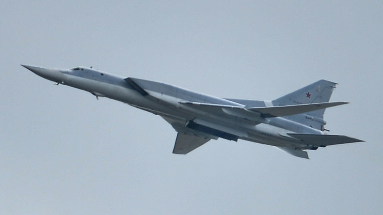Long-range bombers flying from Russia destroy 'major' ISIS camp in central Syria