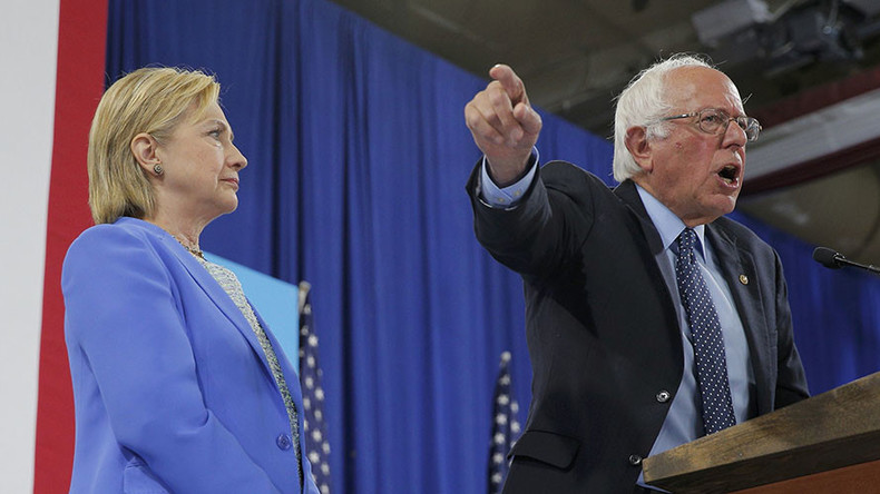 'Bernie is a sellout': Sanders supporters blast him for endorsing Hillary Clinton
