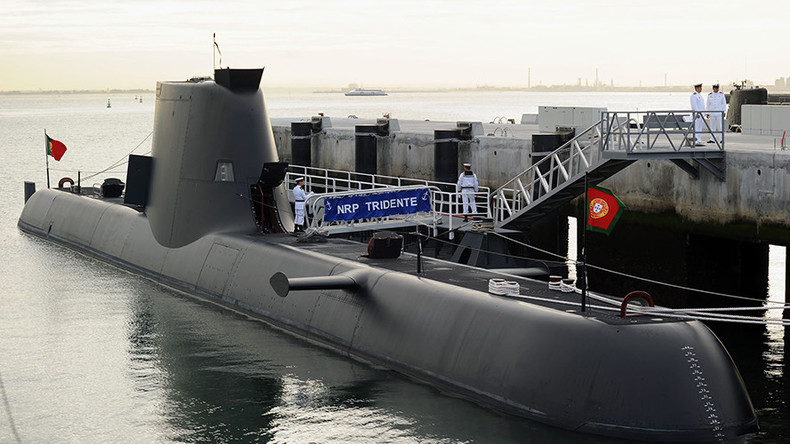 French trawler accidentally catches Portuguese submarine