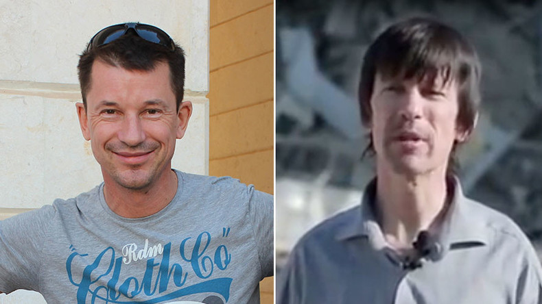 British ISIS hostage John Cantlie appears thinner with longer hair in new propaganda video