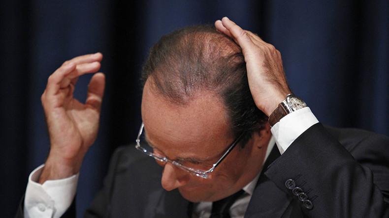 €10,000 salary of Hollande's hairdresser sends Twitter into sarcasm overload